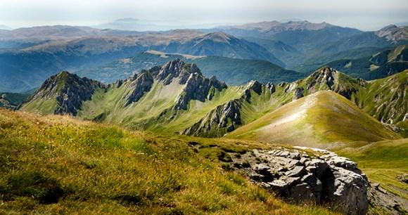 Korab mountain range North Macedonia by Jakub Fryš Wikimedia Commons