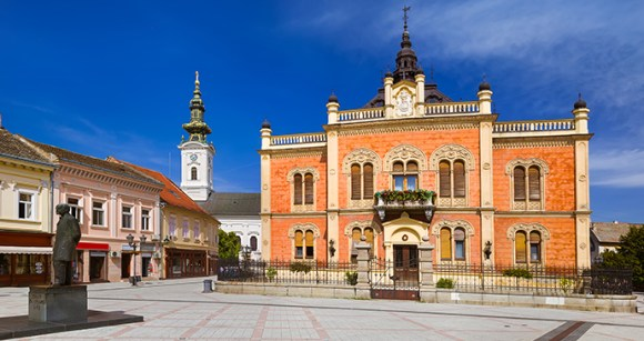 Bishop's Palace, Novi Sad, Vojvodina, Serbia by Nikolai Sorokin, Dreamstime