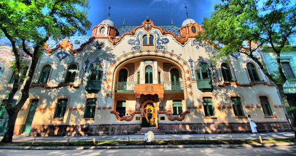Ferenc Raichle mansion, Subotica, Vojvodina, Serbia by Subotica Tourist Organization