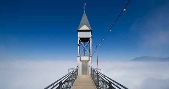 Hammetschwand-Lift Burgenstock Switzerland by Leiju Wikimedia Commons