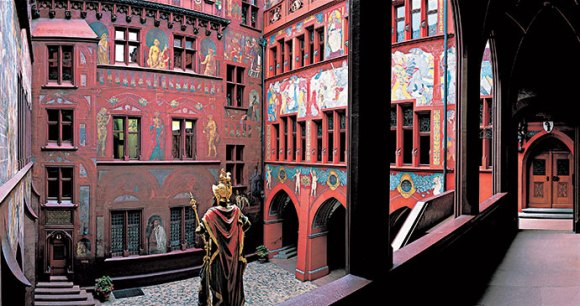 Rathaus Basel Switzerland by Michael Will, Basel Tourism world's most unusual buildings