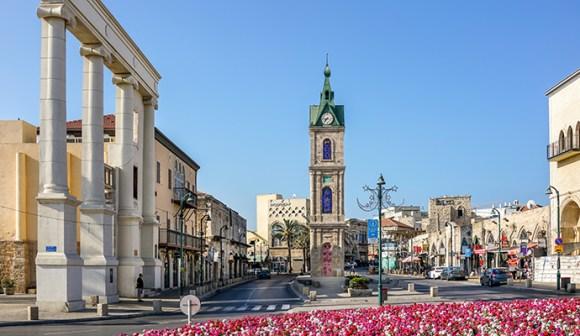 Carmel Square Jaffa Israel by Boris B, Shutterstock
