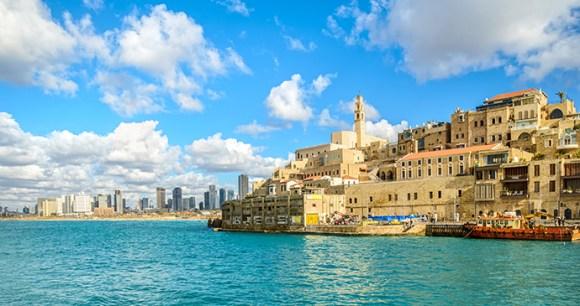 Jaffa and Tel Aviv Israel by JekLi, Shutterstock