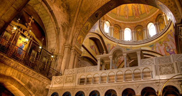 Church of the Holy Sepulchre Jersualem Israel by Noam Chen, IMOT