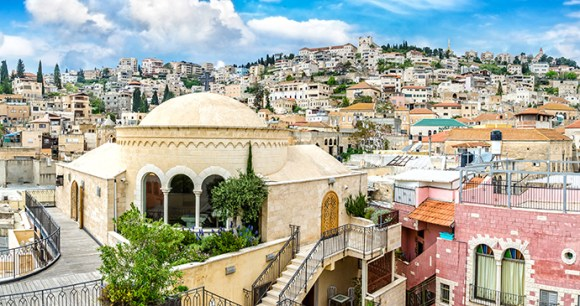 Nazareth Israel by JekLi, Shutterstock