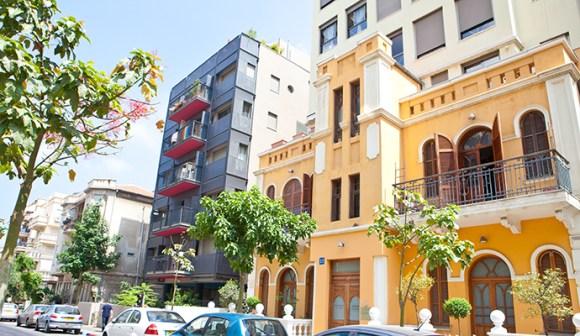 Bauhaus building Tel Aviv Israel by © Dana Friedlander, IMOT