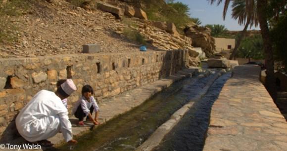 Aflaj irrigation system, Oman © Tony Walsh
