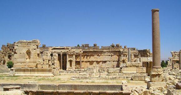 Ruins Baalbek Lebanon by jim, Shutterstock