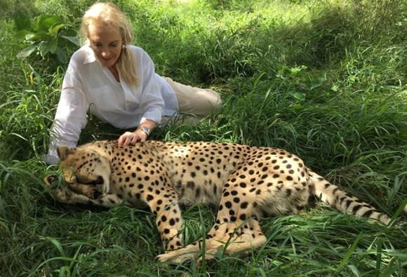 Princess Michael of Kent, A Cheetah's Tale, HRH Princess Michael of Kent