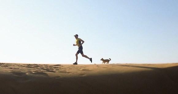 Gobi and Dion running by @findinggobi