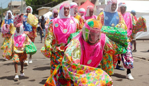 Carriacou Carnival Shakespeare Mas celebrations by Paul Crask
