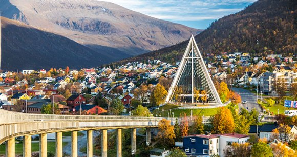 Tromso Cathedral Norway Lapland by Mikhail Varentsov, Shutterstock