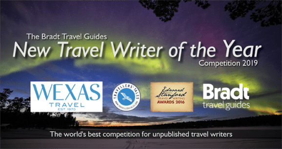 Travel Writing Competition 2019 Banner