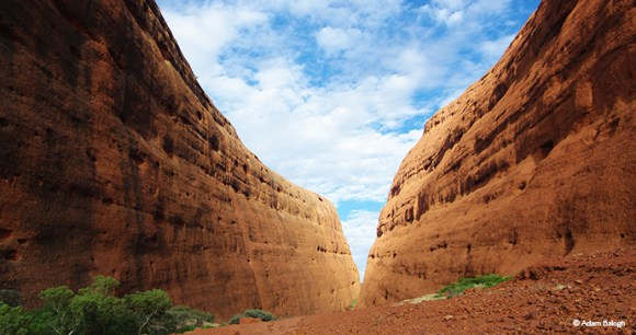 Valley of the winds, Kata Tjuta, Australia by Adam Balogh