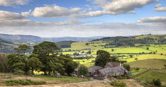Stiperstones Shropshire UK by Andrew Roland Shutterstock