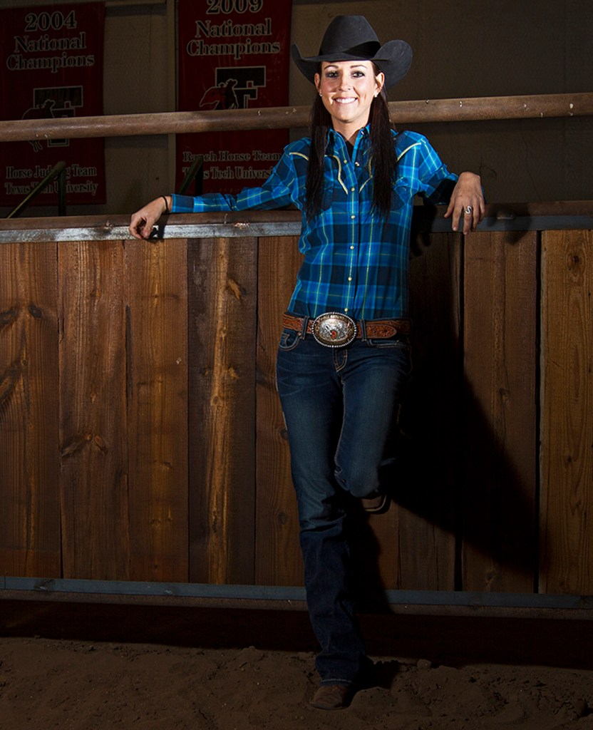 Carley Richardson, from Pampa, won the national rodeo championship with Texas Tech during the 2012 season.