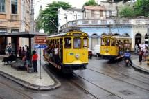 Vintage Tram Line -opened In Rio De Janeiro - Bradutch