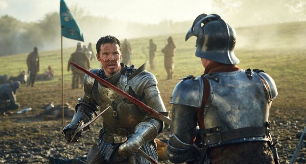 """Benedict Cumberbatch as Richard III in """"The Hollow Crown: The Wars of The Roses."""""""