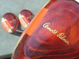 In the '60s, the head of an Arnold Palmer driver was considered fairly large, which seems ridiculous now...