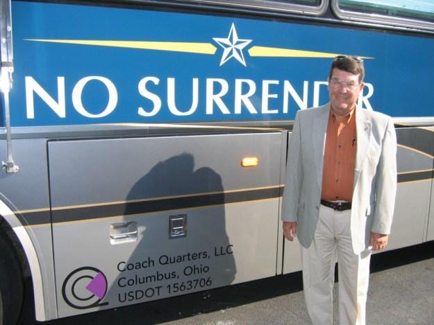 Jack Van Loan, campaigning for his friend John McCain back in 2007.