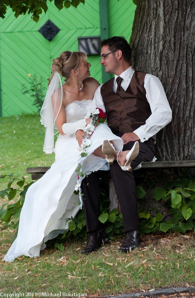 Hochzeit Melanie  Tino LangenleubaNiederhain