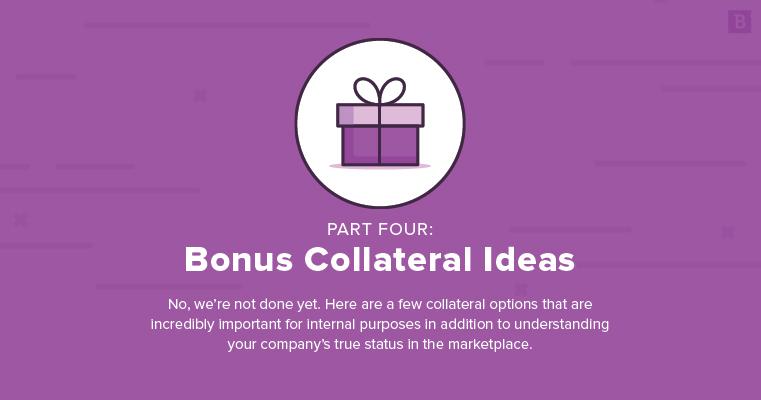 marketing collateral ideas: bonus ideas