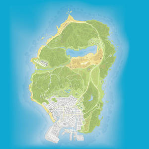 GTA V ATLAS 8192x8192