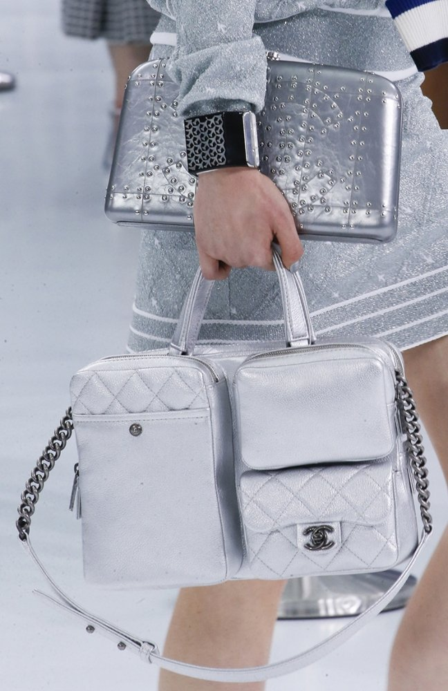 091ca7e808c3 Chanel Spring Summer 2016 Runway Bag Collection Featuring Quilted Mini  Luggage Shoulder Bag .