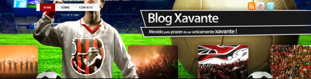 Novo layout WordPress para o Blog Xavante