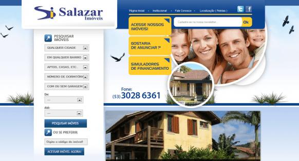 Imobiliária Salazar Imóveis em Pelotas / RS