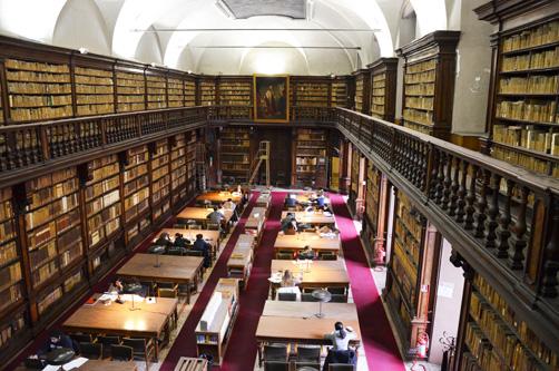 Biblioteca Nazionale Braidense  Sala di lettura
