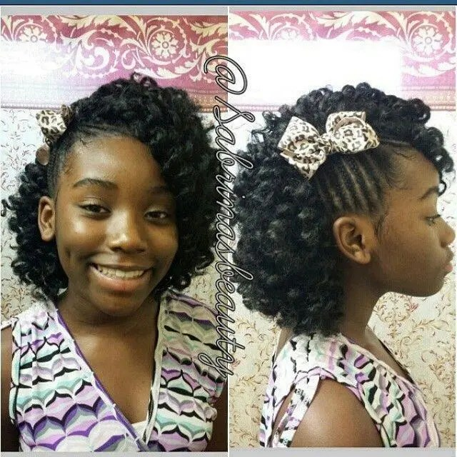 Braids Which Can Be Noticed On Curly Hair Braids Hairstyles For