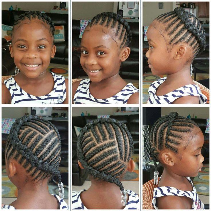 Natural Hair Braiding Styles For Kids