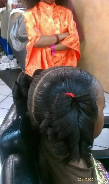 I Always Pin Natural Hair But I Love To See Little Girls With