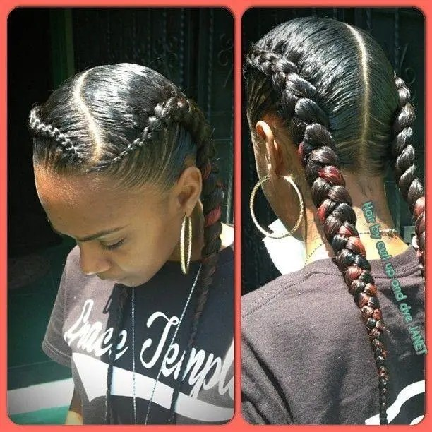 This Year S Coolest Hair Braid Models Braids Hairstyles For