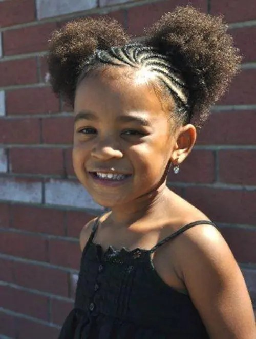 Pretty Braided Hairstyles For Kids With Natural Hair Braids
