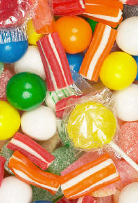 Food dyes in candies like this damage childrens health