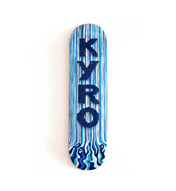 Aaron Kyro Drips Deck Blue - Revive Winter Pro Model