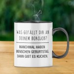 Kaffeetassen Becher Tasse Burojob Lustig Spruch Kuchen Arbeit Job Buro Menschen Becher Geschenk Mobel Wohnen Jaipurfever Com