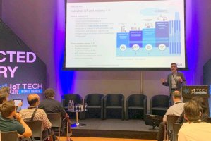 Cybersecurity solutions developed by BRAIN-IoT at the IoT Tech Expo Europe 2019