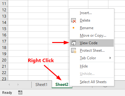 Vba Worksheet Activate And Deactivate Event In Excel