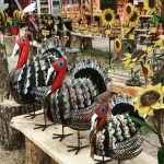 Enchanting Colors of Metal Works and Wood Carvings in Ruidoso, New Mexico