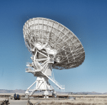 Very Large Array Giant Dish Antennas Scoop Radio Waves Like No Other in the World