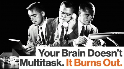 Why Multi-Tasking Is Bad For Your Brain