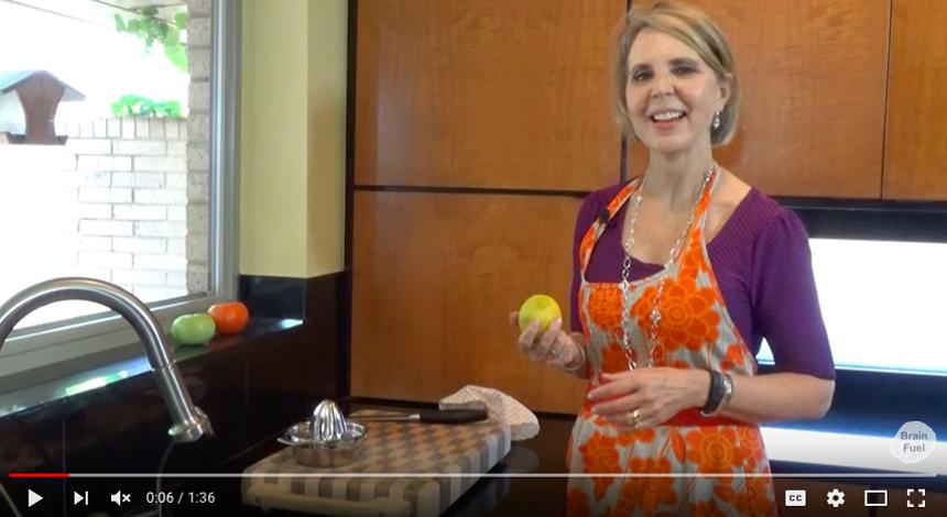 Brain Fuel Cookbook. How to Juice a Lemon