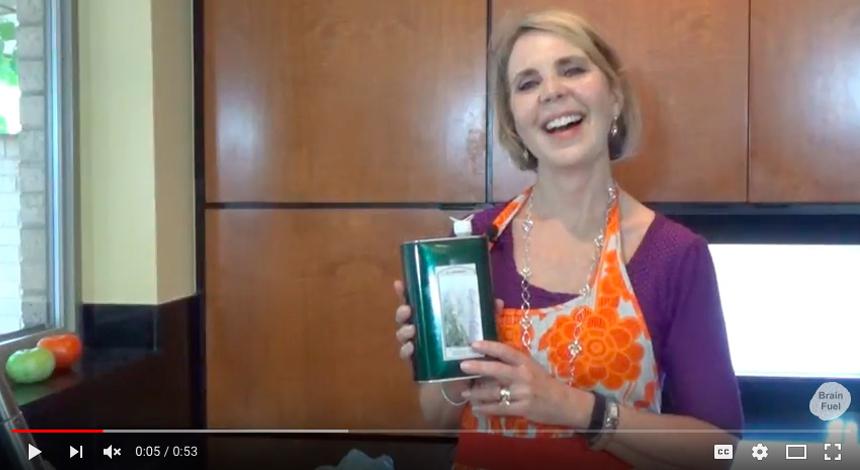 Brain Fuel Cookbook. About Olive Oil