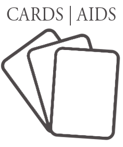 Activity cards and teaching aids