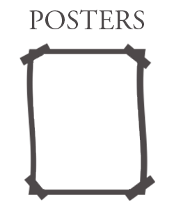 wall mount activity posters