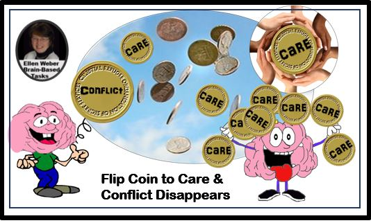 Flip conflict to care