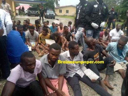 Police Parade 6 Suspected Kidnappers, 27 Others In Calabar